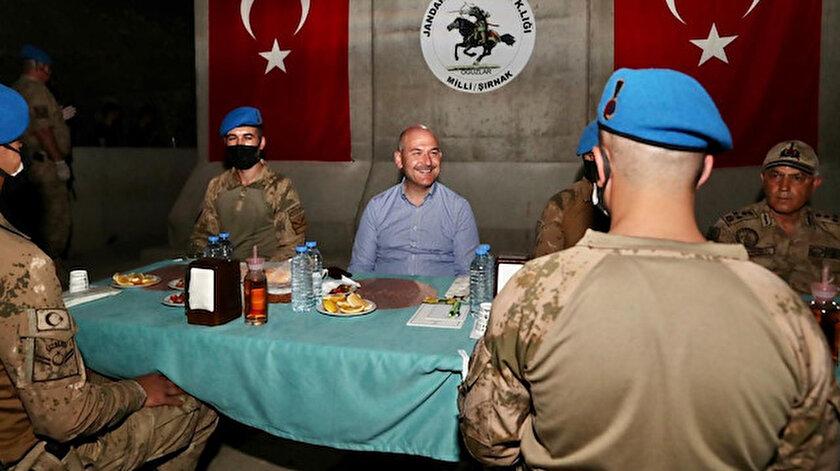 Komandolara bayram ziyareti: Cumhurbaşkanı Erdoğan, Şırnaktaki komandoların bayramını kutladı