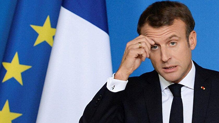 SON DAKİKA: Türkiyeden terör örgütleriyle görüşen Fransa Cumhurbaşkanı Macrona kınama