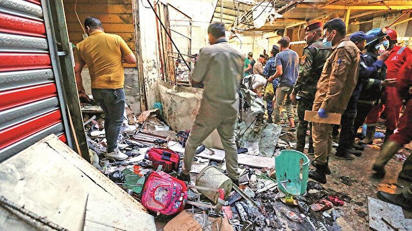 Bayram alışverişine bomba: 33 kişi öldü