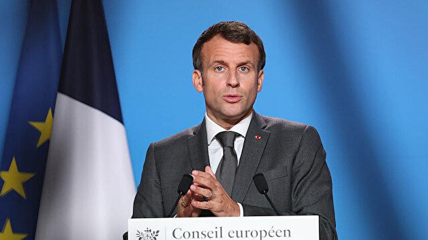 Fransa Cumhurbaşkanı Macrondan terör örgütü YPGye meşruiyet sözü