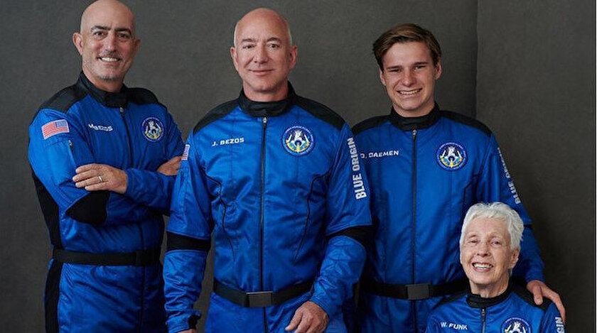 Milyarder işadamı Jeff Bezos bugün uzaya gidiyor