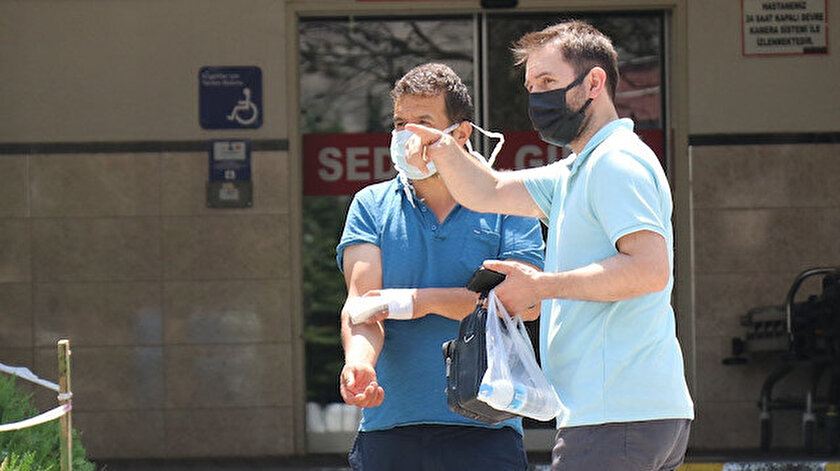 İstanbulda kurbanlık keserken 2 bin 487 kişi kendisini yaraladı
