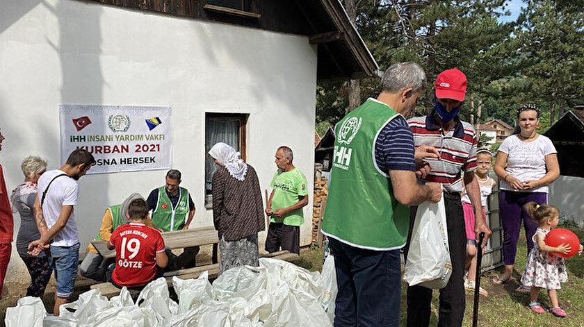 İHH Bosna Hersekte 7 bin kişiye kurban eti ulaştıracak