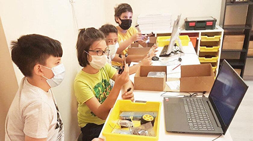 Tatilde robotik kodlama dersi