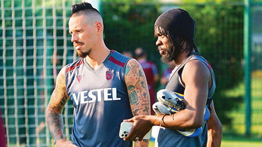 Fırtına'da çetin rekabet: Trabzonsporlu futbolcular forma için kıyasıya bir yarışın içine girdi