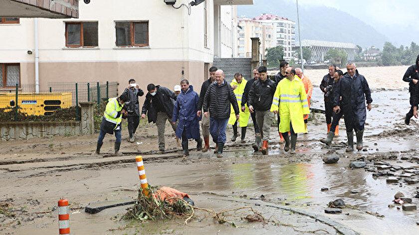 Bakan Soylu: Herhangi bir baraj patlaması söz konusu değil