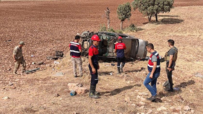 Mardin haber... Mardin'de kahreden kaza: 2 asker hayatını kaybetti