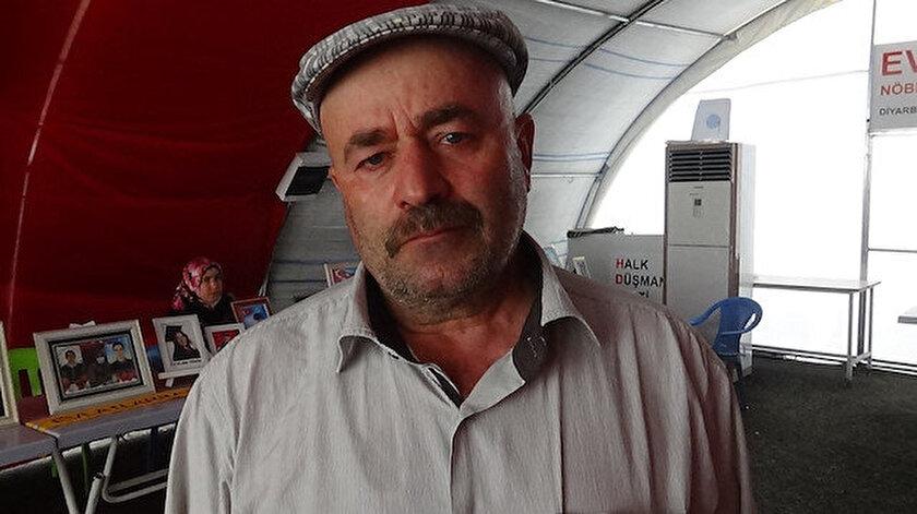 Diyarbakır haber: Evlat nöbetindeki baba, 17 bayramdır oğlunu göremiyor
