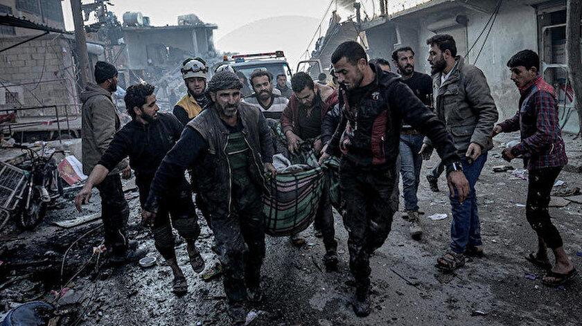 Esed rejiminden sivillere saldırı: Yedi kişi hayatını kaybetti