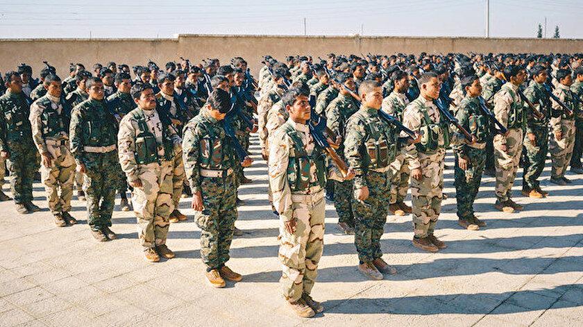 ABD PKK/YPGli teröristleri eğitip Haseke'ye saldı