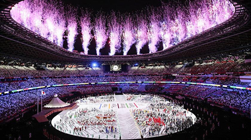 Tokyo 2020nin açılış seremonisi gerçekleştirildi