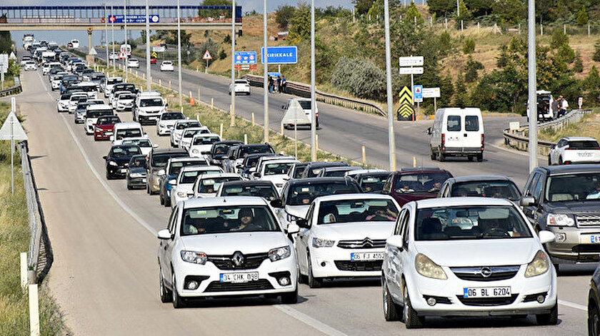 İçişlerinden bayram dönüşü trafik uyarısı: Dikkat Sabır Kural