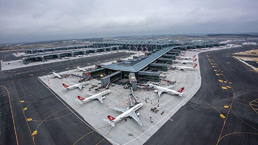 İstanbul Havalimanında bugün 150 bin yolcu uçacak