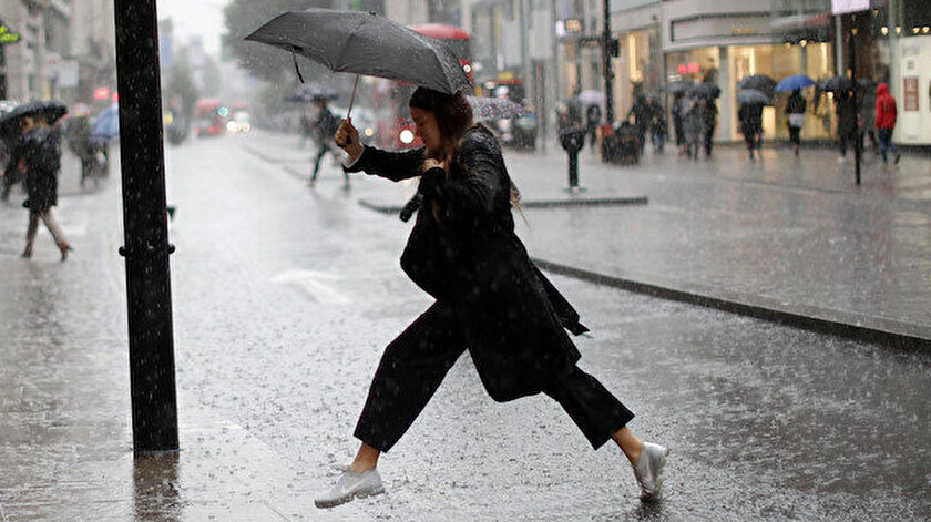 Marmara yağışa teslim: Birçok ilde sağanak bekleniyor