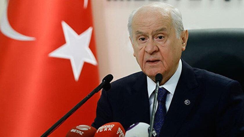 MHP Genel Başkanı Bahçeli: Kıbrısta iki ayrı devlet varlığı artık herkesçe kabul edilmelidir