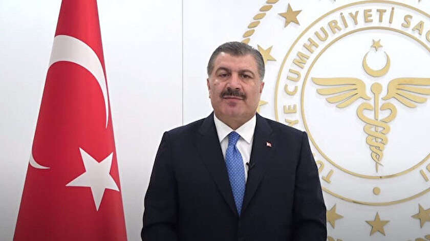 Sağlık Bakanı Fahrettin Koca: Aktif vakaların yüzde 87si aşılanması tamamlanmamış kişiler