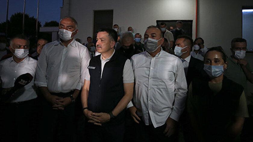 Bakan Bekir Pakdemirli: Manavgattaki yangından etkilenenlerden ikisi hariç hepsi taburcu oldu