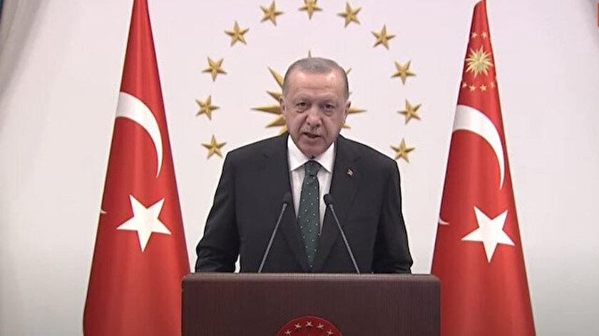 Karadeniz doğal gazında ilk ateş yakıldı! Cumhurbaşkanı Erdoğandan muhalefete gönderme: Bu yanan ateşe iyi bakın