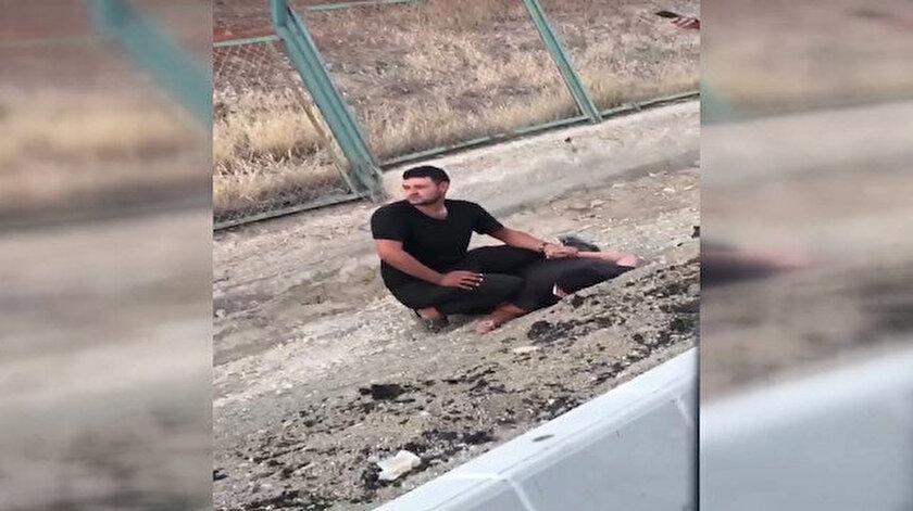 Ankarada PKK sempatizanı kışlada yangın çıkarmaya çalışırken yakalandı