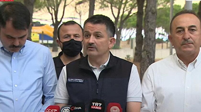 Bakan Pakdemirli: Çok yönlü soruşturma ve araştırma ilgili kolluk kuvvetleri ve adli mercilerle yapılıyor