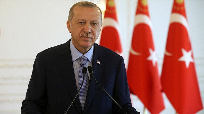 Cumhurbaşkanı Erdoğan: Yatırım sanayi ve lojistikte yakaladığımız ivmeyi devam ettireceğiz