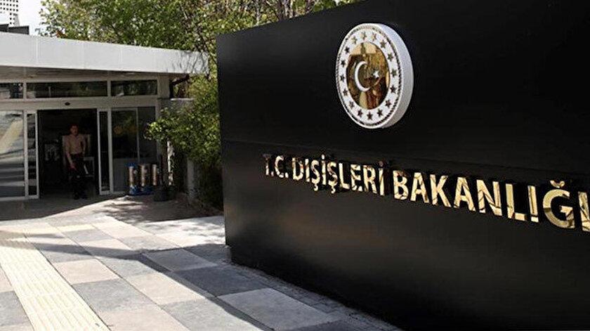 Dışişleri Bakanlığından BM Güvenlik Konseyinin kararına tepki: Kıbrıs Türk halkının iradesi yine yok sayılmıştır