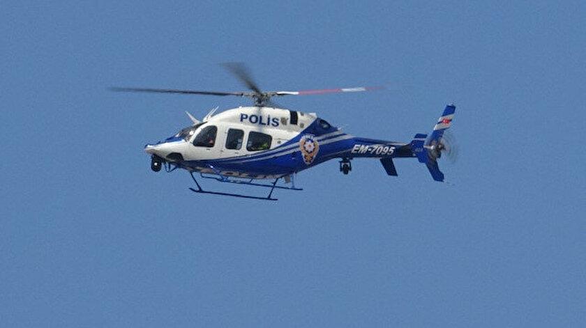 İstanbulda orman yangınlarına karşı helikopter destekli güvenlik önlemi