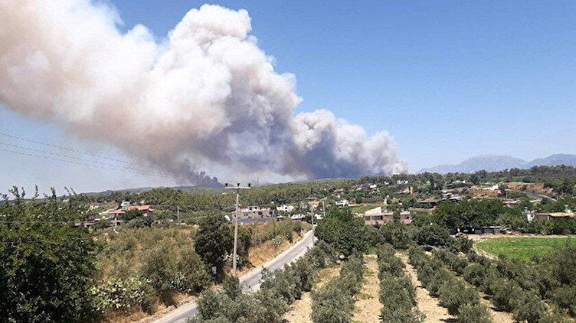 Adanada son dakika orman yangını: Havadan ve karadan müdahale yeniden başladı