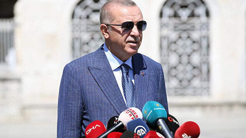 Cumhurbaşkanı Erdoğan: Yangını bile siyasete alet ediyorlar THKda uçak yok