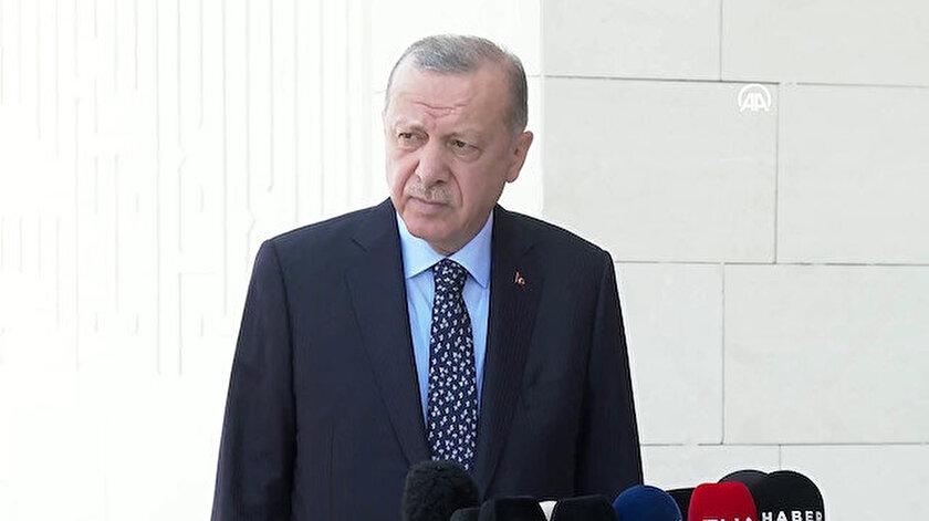 Cumhurbaşkanı Erdoğan: Aşı olmayanlara kısıtlamayı kabinede görüşeceğiz