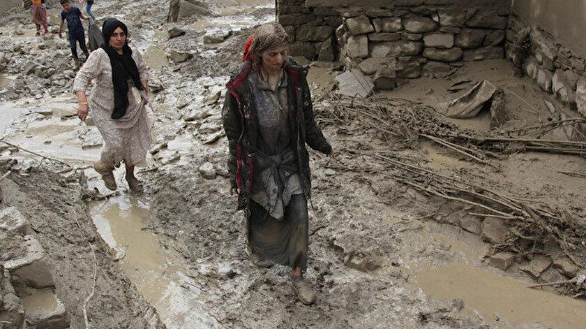 Vanda sel felaketi nedeniyle 5 ev yıkıldı