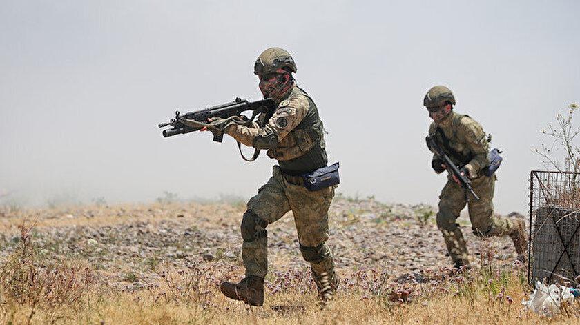 Yedi PKKlı terörist etkisiz hale getirildi