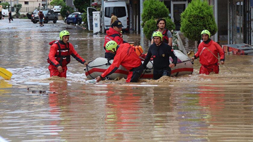 Doğu Anadoluda 5 il için sel uyarısı
