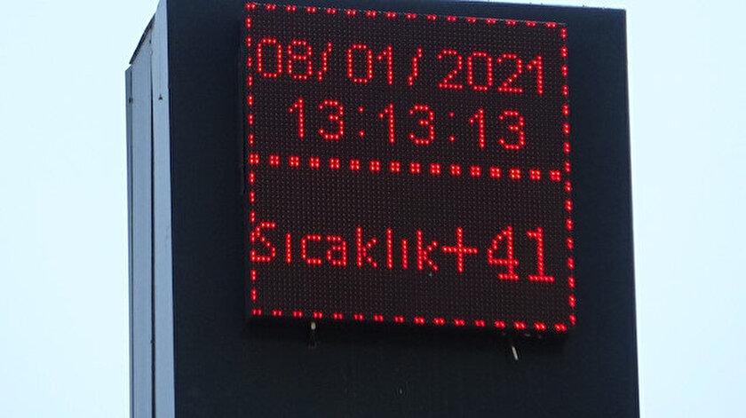 Diyarbakırda termometreler 41 dereceyi gösterdi! Diyarbakır hava durumu