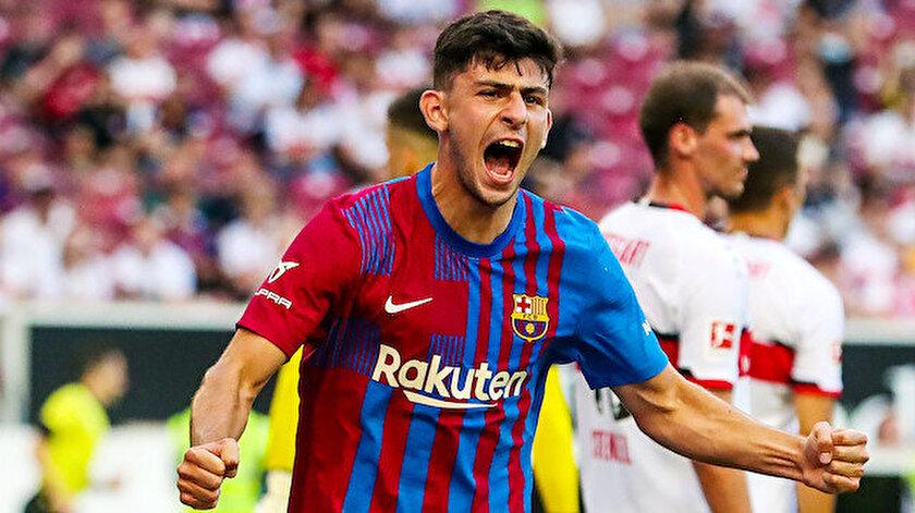 Barcelona forması giyen Yusuf Demir attığı golle alkış topladı