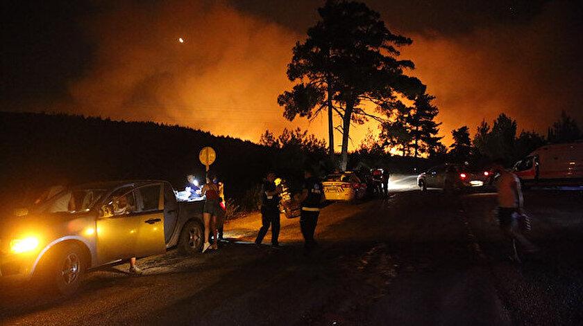Bakan Pakdemirli: Muğla Bodrum yangını kontrol altına alındı