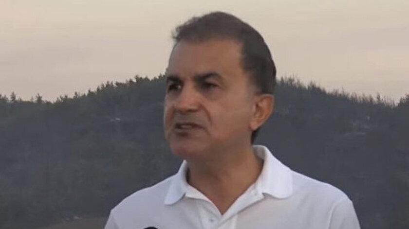 AK Parti Sözcüsü Çelik: Yalan haberlerle fitne yayılması mücadeleye zarar verir