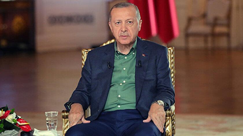 Cumhurbaşkanı Erdoğandan Kılıçdaroğlunun imar yetkisi iddiasına yanıt: Dürüstse ispat etsin