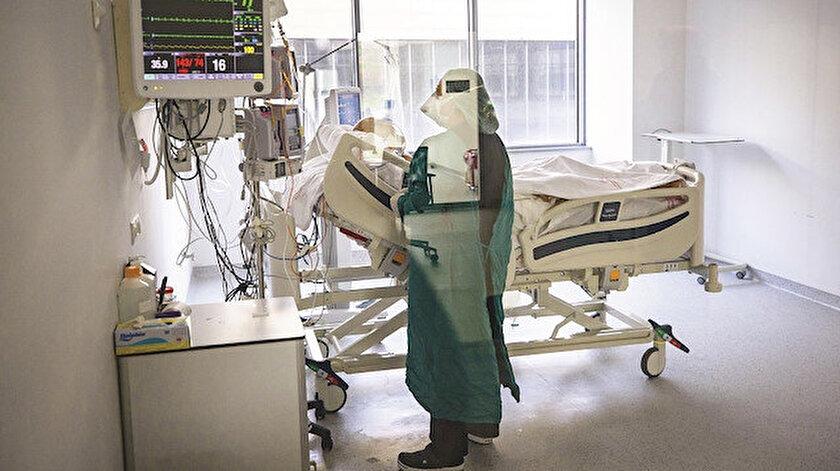 10 bin hasta yoğun bakımda: Vaka sayısı 10 gündür 20 binin üzerinde