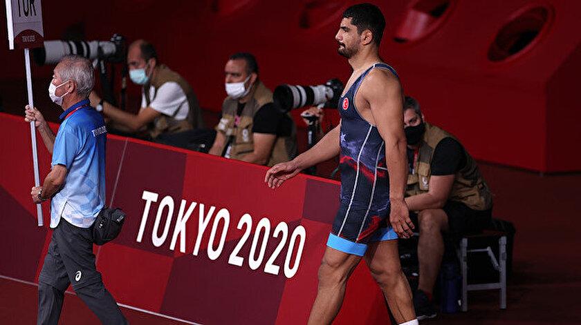 Taha Akgül Tokyo 2020de bronz madalya kazandı
