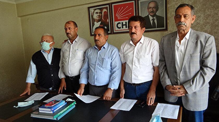 Vanda CHP'li üç ilçe başkanı istifa etti