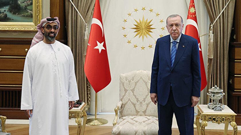 BAE Başkanı Danışmanı Gargaş: Bin Zayed Erdoğanla tarihi ve olumlu bir toplantı yaptı