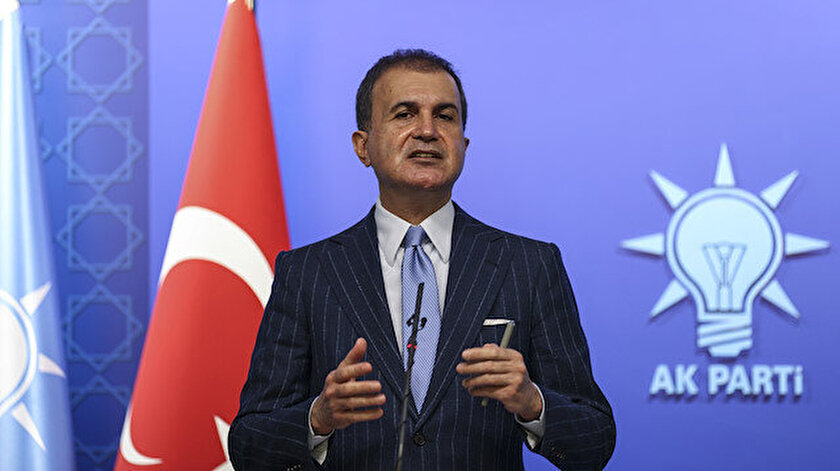AK Parti Sözcüsü Ömer Çelikten Türkiyede göçmen merkezi iddialarına yanıt: Bu bir yalan