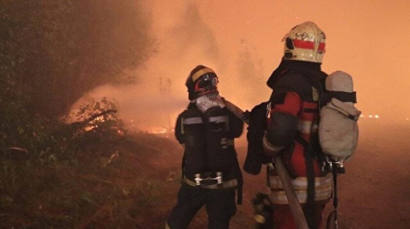 Rusyadaki orman yangınları yerleşim alanlarına sıçradı