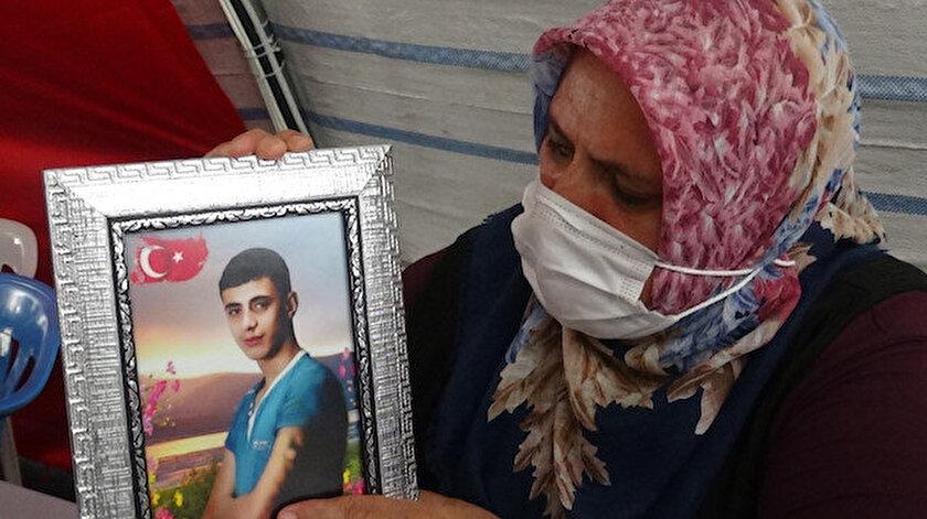 Evlat nöbetindeki anne Güzide Demir: Oğlum kaçmak isterken PKK'lılar onu yakalayıp yaktı