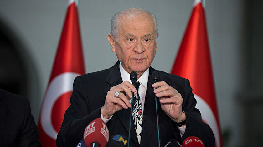 Devlet Bahçeliden seçim barajı açıklaması: Yalan çarkı ilk önce bu çarkı kuranları öğütecek