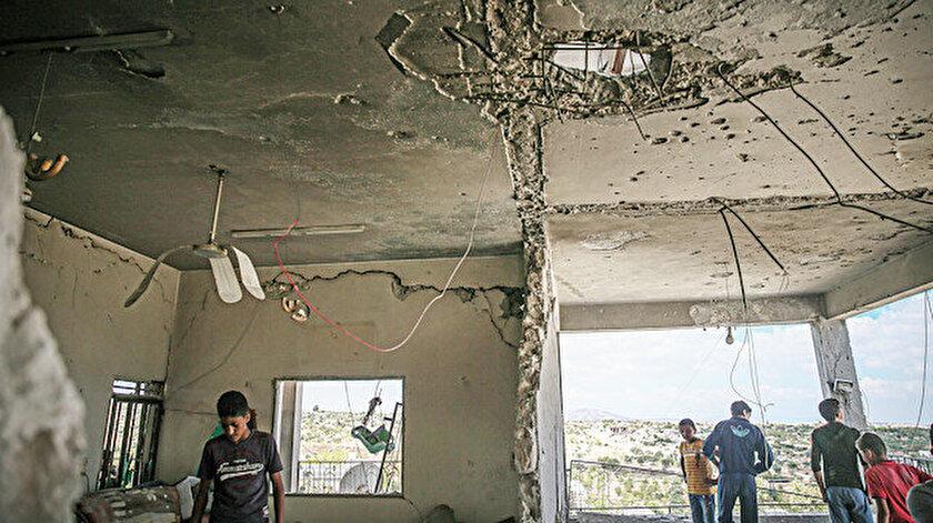 Rusya ve Esed İdlib'i yıkıyor