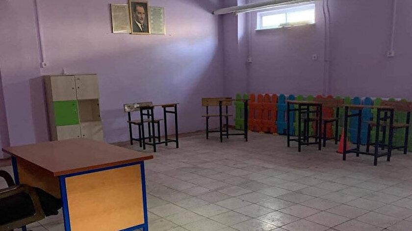 Kocaeli haberleri: Atipik otizmli çocuğunun sınıfının yerine tepki gösterdi, kat değiştirildi