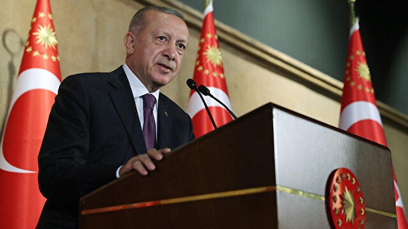 Cumhurbaşkanı Erdoğan: Elde ettiğimiz her başarıda en büyük pay kadınlara aittir