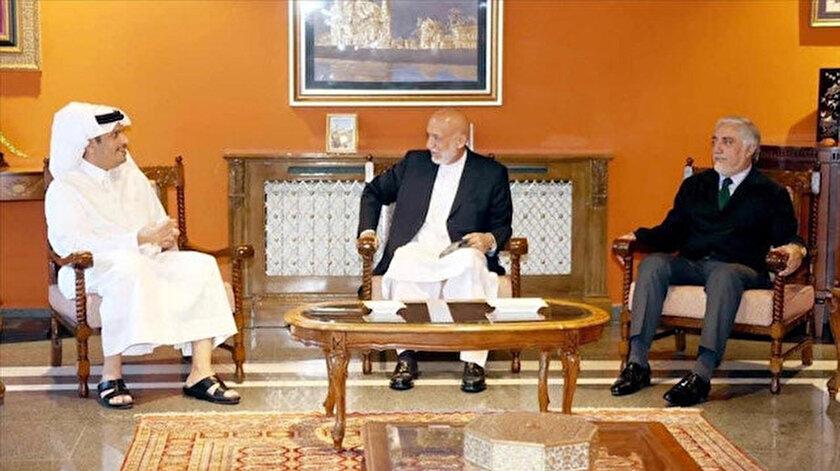 Taliban hükümetine ilk üst düzey ziyaret Katardan